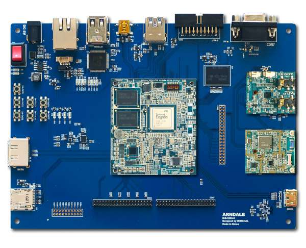 ArndaleBoard ARM Cortex-A15 development board