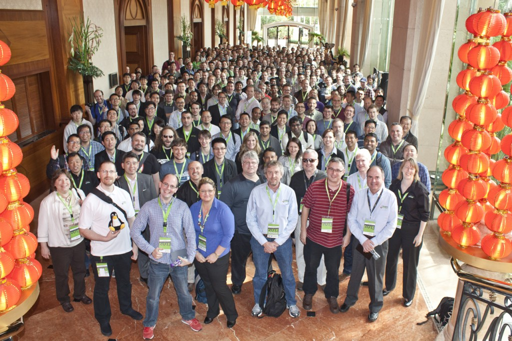 Linaro Connect 2013 group picture